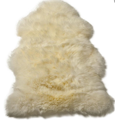 Premium Large Sheepskin in Taupe, Ivory, Champagne or Light Grey