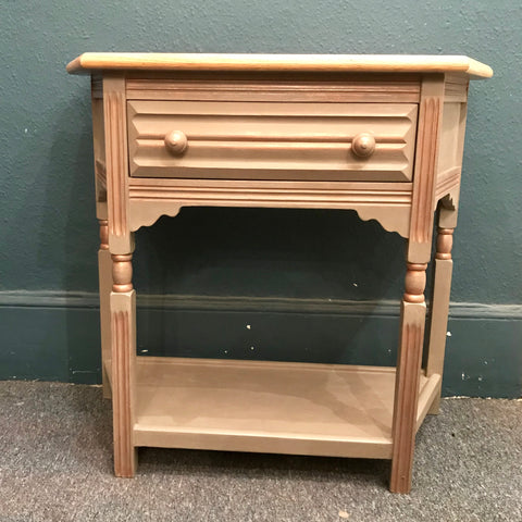 SOLD Ava - Console table in French Linen