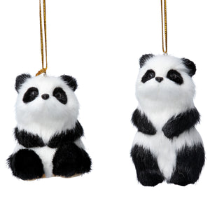 Panda Xmas Tree Decorations
