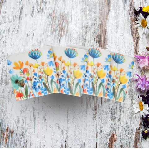 Summer Meadow Coasters Set of 4