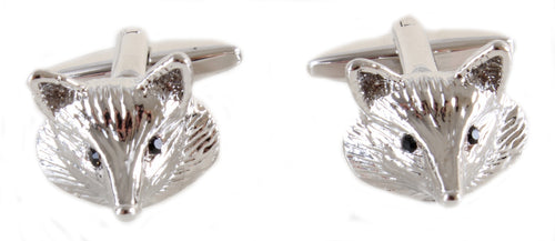 Fox Head Cufflinks - La Di Da Interiors
