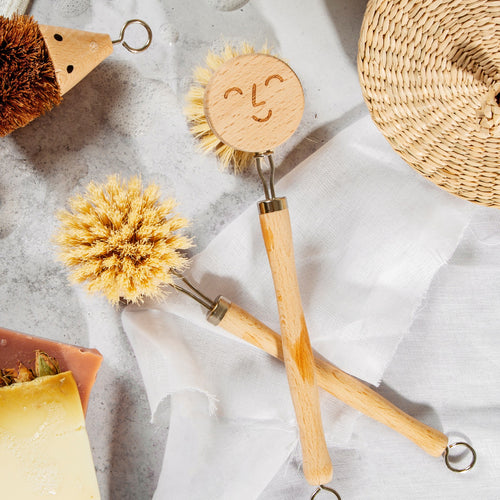 Happy Wooden Washing Up Brush