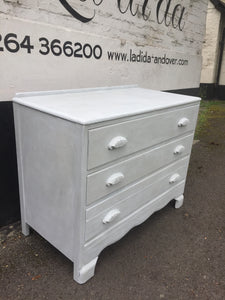"""Lady Grey"" Chest of Drawers SOLD - La Di Da Interiors"