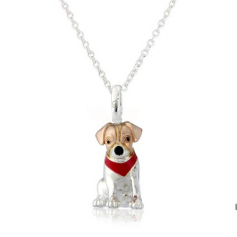 Tinker the Terrier pendant necklace