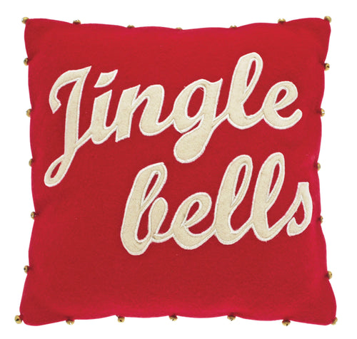 Jingle Bells Christmas Cushion
