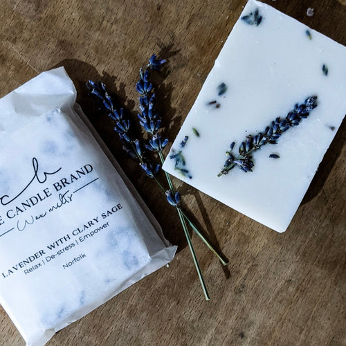 The Candle Brand Wax Melts Lavender and Clary Sage