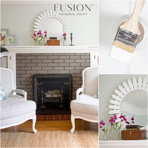 Picket Fence White Fusion Mineral Paint - La Di Da Interiors