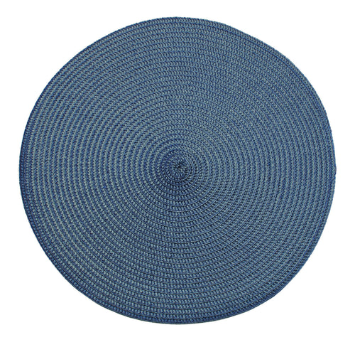Slate blue placemat