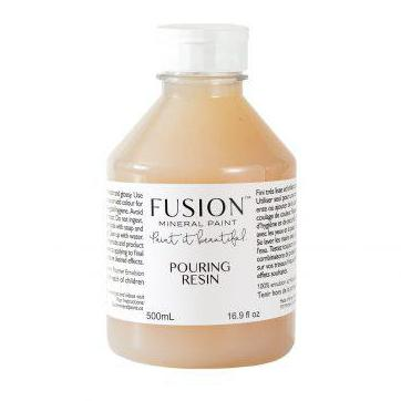Pouring Resin by Fusion - La Di Da Interiors