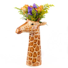 Load image into Gallery viewer, Quail Flower Vase - Fox, Zebra, Giraffe, Leopard, Rhino, Elephant, Tiger & Hare. - La Di Da Interiors