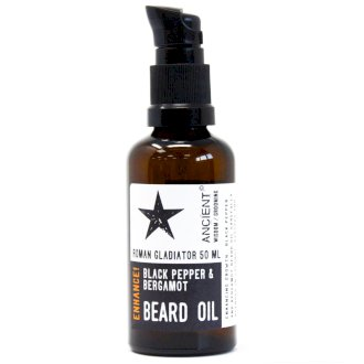 Roman Gladiator Beard Oil with Black Pepper & Bergamot - La Di Da Interiors