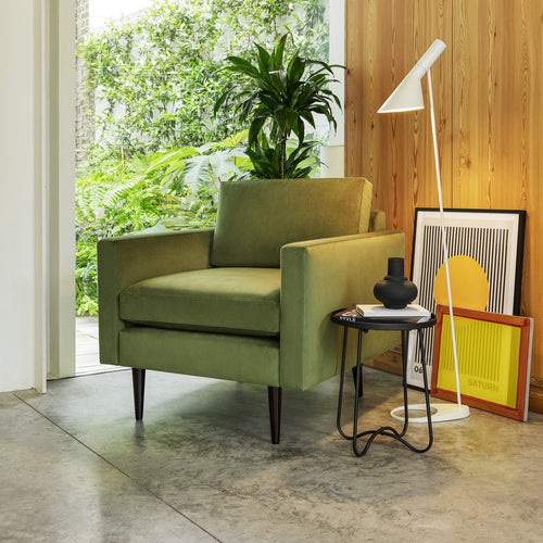 Vine Green Swyft Model 01 Armchair