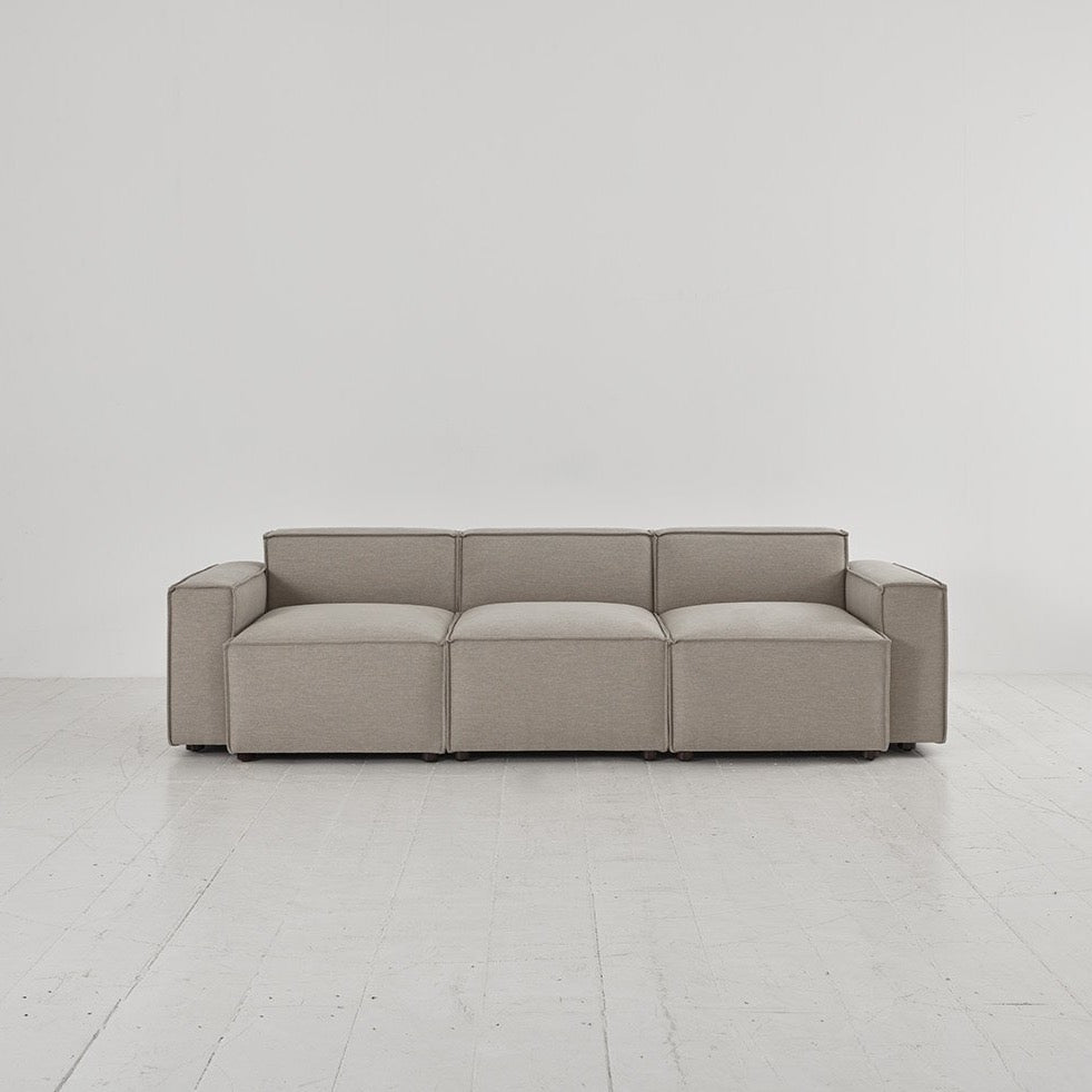 Shadow Grey Model 03 Swyft Sofa 3 Seater