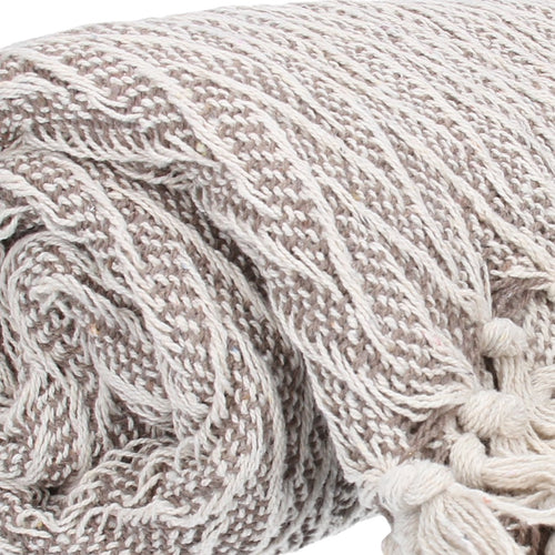 Gisela Graham Beige Throw
