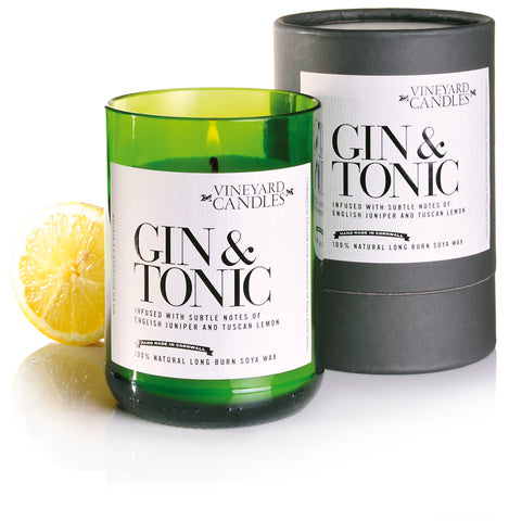 Vineyard Candles - Gin & Tonic, Prosecco, Merlot & Kir Royale