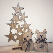 Load image into Gallery viewer, Wooden Star Christmas Tree