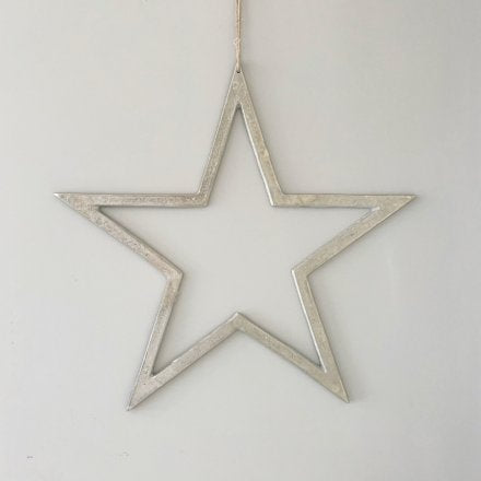 XL Nickel Silver Star