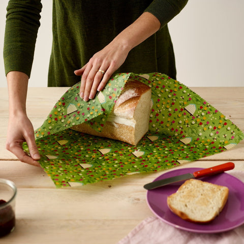 Beeswax Wraps - The Bread Wrap