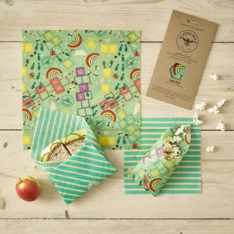 Beeswax Wraps - The Lunch Pack