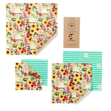 Charger l'image dans la galerie, Beeswax Wraps - The Large Kitchen Pack - La Di Da Interiors