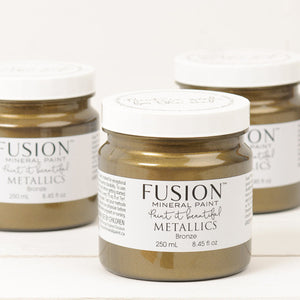Fusion Mineral Paint Metallic Bronze 250ml - La Di Da Interiors