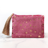 Velvet Star Purse Pouch - La Di Da Interiors