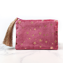Velvet Star Purse Pouch