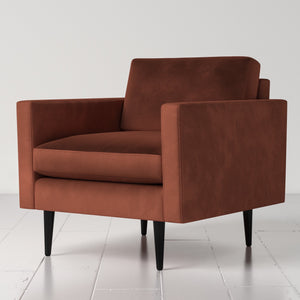 Swyft Model 01 Armchair in Brick Red