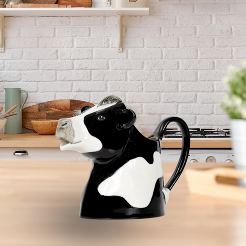 Quail Ceramics Cow Milk Jug