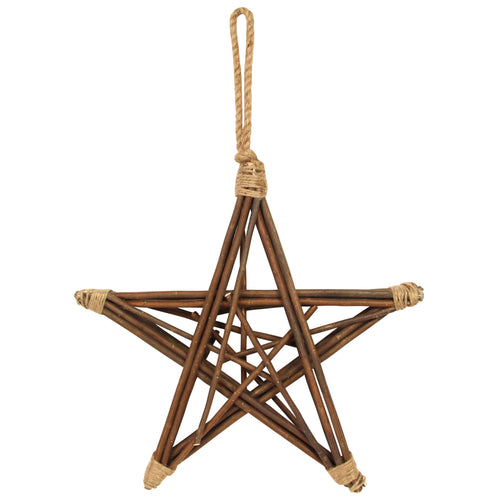 Willow and jute star by Gisela Graham