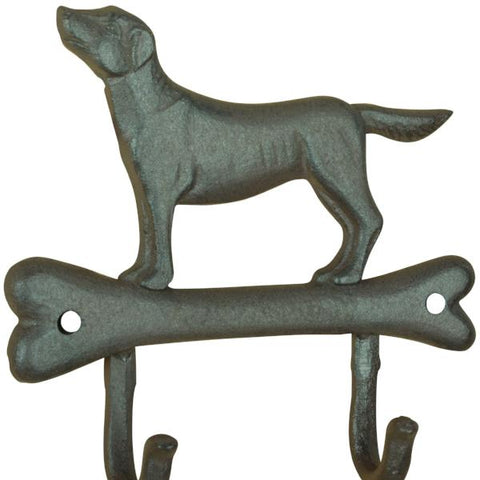 Dog on a bone hooks