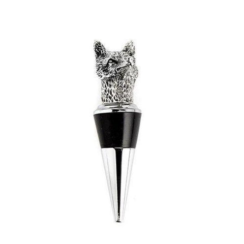 Fox Bottle Stopper
