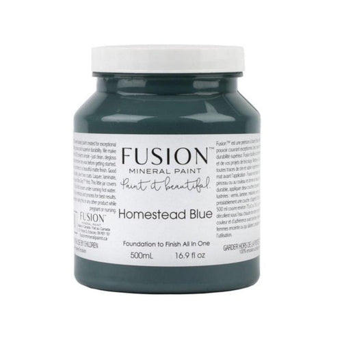 Homestead Blue Fusion Mineral Paint - La Di Da Interiors
