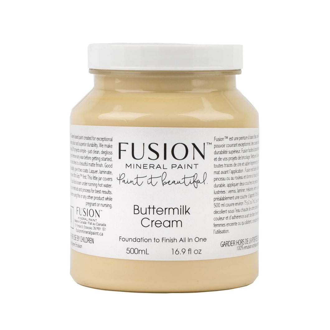 Buttermilk Cream Fusion Mineral Paint - La Di Da Interiors