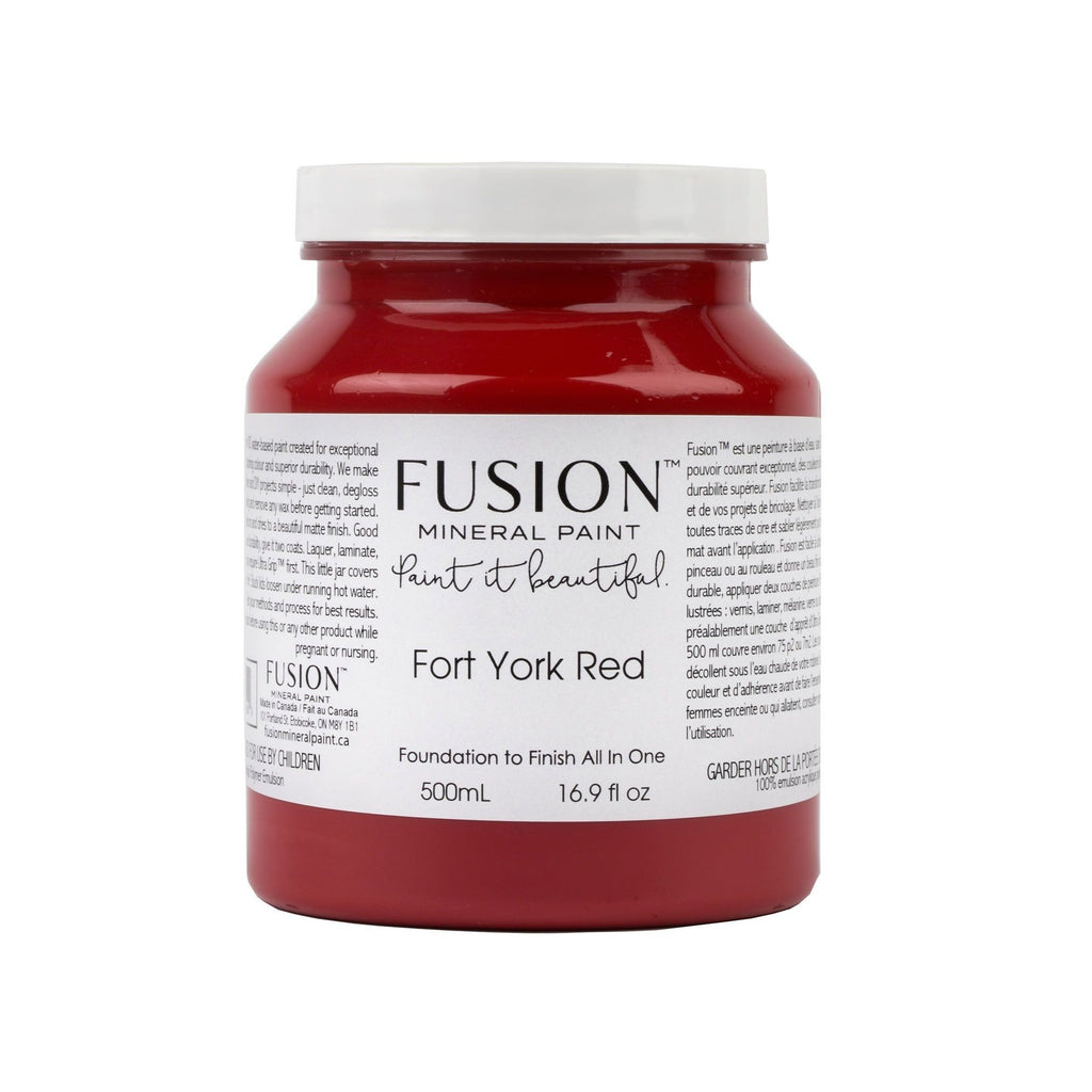 Fort York Red Fusion Mineral Paint - La Di Da Interiors