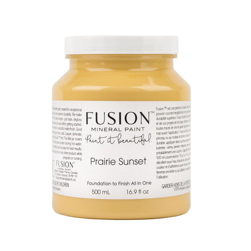 Prairie Sunset Yellow Fusion Mineral Paint - La Di Da Interiors