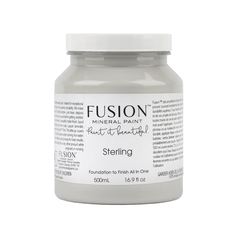 Sterling Grey Fusion Mineral Paint - La Di Da Interiors