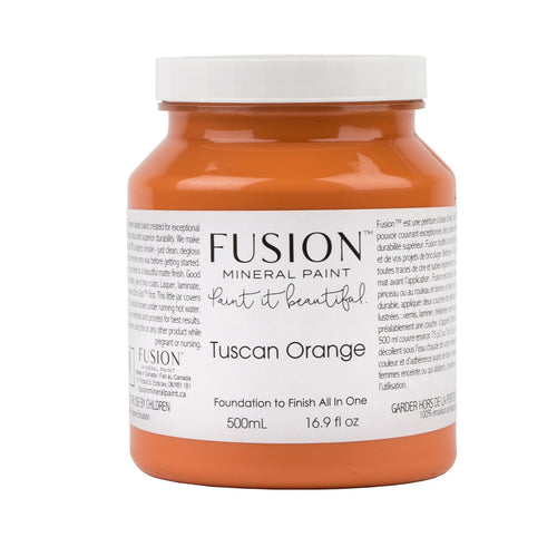 Tuscan Orange Fusion Mineral Paint - La Di Da Interiors
