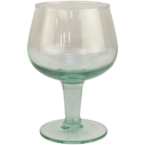 Gin glass recycled