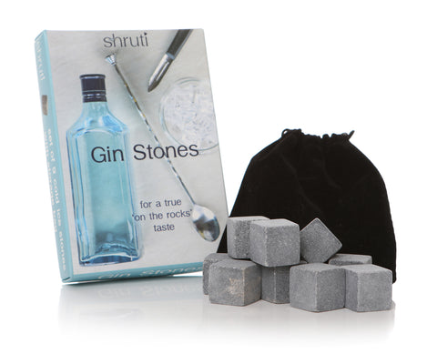 Gin Stones - chill your drinks without dilution