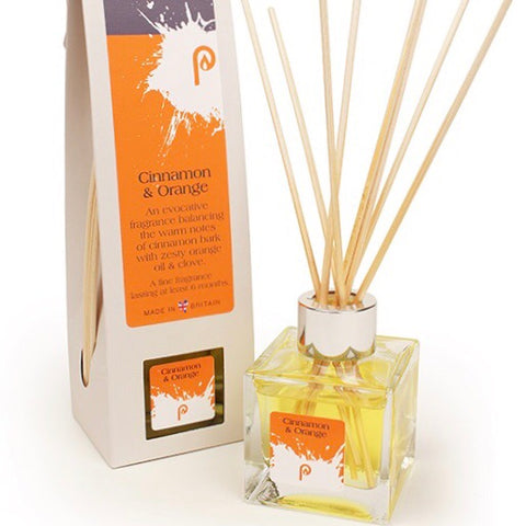 Cinnamon and orange scented diffuser
