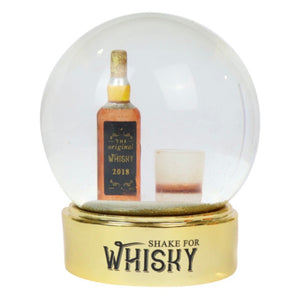 Whisky Snow Globe - Shake for Whisky!