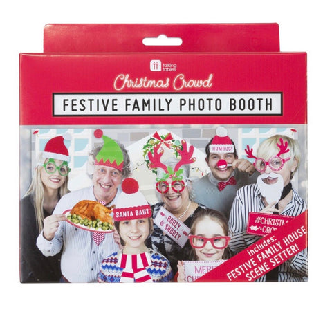 Christmas photo booth family fun - La Di Da Interiors