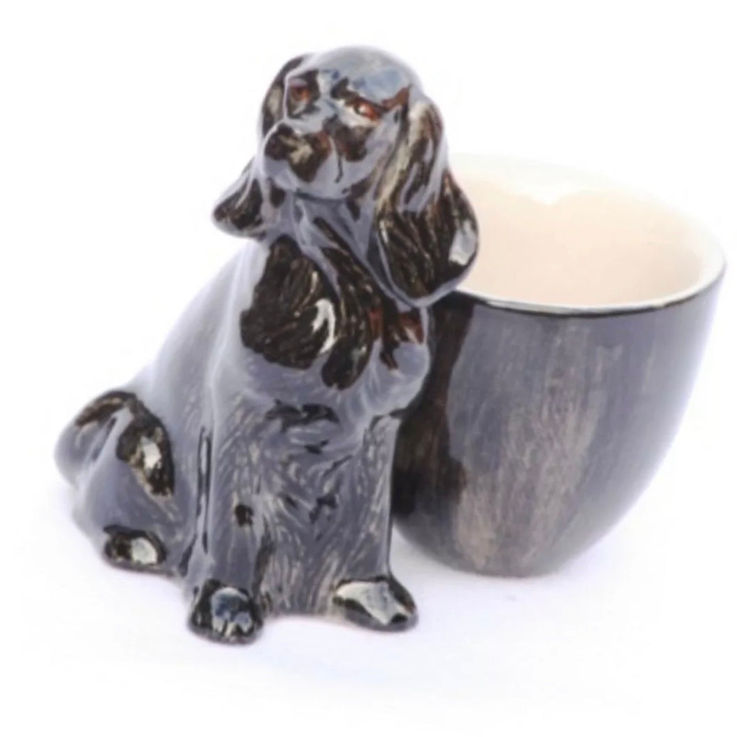 Cocker Spaniel Egg Cup by Quail - La Di Da Interiors