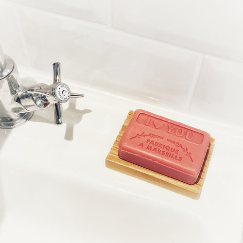 french triple milled soap