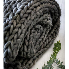 Load image into Gallery viewer, Chunky Knitted Blanket