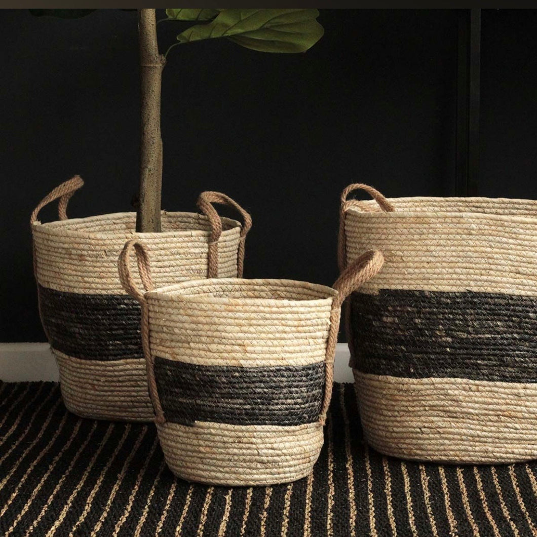 Round large baskets