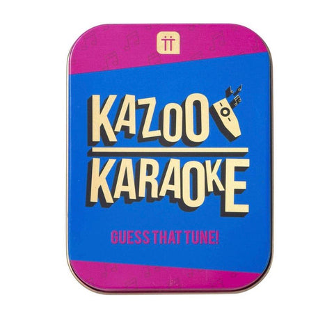 Kazoo Karaoke Game in a Tin