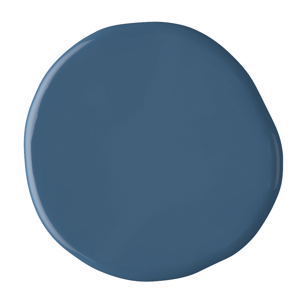 Cornish Milk Mineral Paint Mor Blue