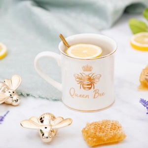 Queen Bee Porcelain Mug
